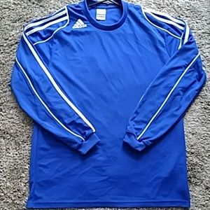 *3 for $10* Adidas Climalite Shirt Size M  - Blue
